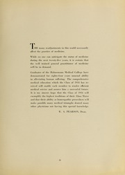 Page 17, 1934 Edition, Drexel University College of Medicine - Hahnemann Medic Yearbook (Philadelphia, PA) online yearbook collection