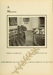 Page 13, 1949 Edition, Drexel University College of Medicine - Hahnemann Medic Yearbook (Philadelphia, PA) online yearbook collection