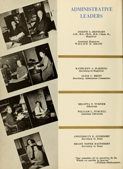 Page 16, 1949 Edition, Drexel University College of Medicine - Hahnemann Medic Yearbook (Philadelphia, PA) online yearbook collection