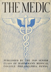 Page 6, 1949 Edition, Drexel University College of Medicine - Hahnemann Medic Yearbook (Philadelphia, PA) online yearbook collection