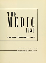 Page 7, 1950 Edition, Drexel University College of Medicine - Hahnemann Medic Yearbook (Philadelphia, PA) online yearbook collection