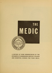 Page 7, 1951 Edition, Drexel University College of Medicine - Hahnemann Medic Yearbook (Philadelphia, PA) online yearbook collection