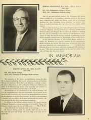 Page 7, 1961 Edition, Drexel University College of Medicine - Hahnemann Medic Yearbook (Philadelphia, PA) online yearbook collection