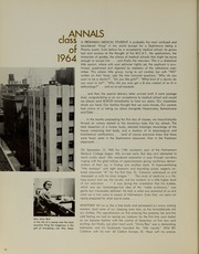 Page 14, 1964 Edition, Drexel University College of Medicine - Hahnemann Medic Yearbook (Philadelphia, PA) online yearbook collection
