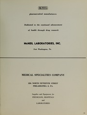 Page 149, 1964 Edition, Drexel University College of Medicine - Hahnemann Medic Yearbook (Philadelphia, PA) online yearbook collection