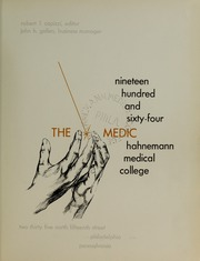 Page 5, 1964 Edition, Drexel University College of Medicine - Hahnemann Medic Yearbook (Philadelphia, PA) online yearbook collection