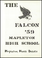 Page 5, 1959 Edition, Mapleton High School - Falcon Yearbook (Mapleton, ND) online yearbook collection