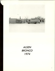 Page 5, 1974 Edition, Alsen High School - Broncho Yearbook (Alsen, ND) online yearbook collection