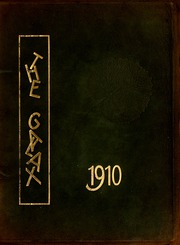1910 Edition, Davenport College - Galax Yearbook (Lenoir, NC)