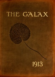 1913 Edition, Davenport College - Galax Yearbook (Lenoir, NC)