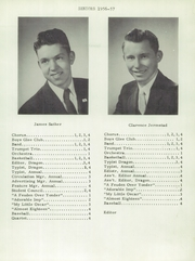 Page 9, 1958 Edition, Davenport High School - Dragon Yearbook (Davenport, ND) online yearbook collection