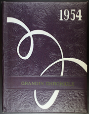 Page 1, 1954 Edition, Grandin High School - Eagle Yearbook (Grandin, ND) online yearbook collection