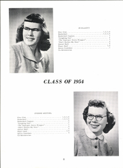 Page 14, 1954 Edition, Grandin High School - Eagle Yearbook (Grandin, ND) online yearbook collection