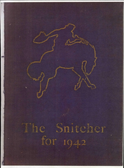 1942 Edition, State Normal and Industrial School - Snitcher Yearbook (Ellendale, ND)