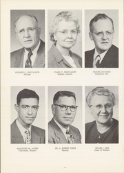Page 10, 1956 Edition, State Normal and Industrial School - Snitcher Yearbook (Ellendale, ND) online yearbook collection