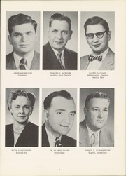 Page 11, 1956 Edition, State Normal and Industrial School - Snitcher Yearbook (Ellendale, ND) online yearbook collection
