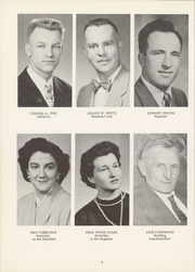 Page 12, 1956 Edition, State Normal and Industrial School - Snitcher Yearbook (Ellendale, ND) online yearbook collection