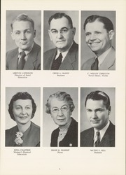 Page 9, 1956 Edition, State Normal and Industrial School - Snitcher Yearbook (Ellendale, ND) online yearbook collection