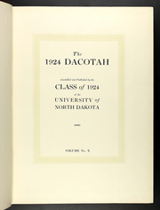 Page 13, 1924 Edition, University of North Dakota - Dacotah Yearbook (Grand Forks, ND) online yearbook collection
