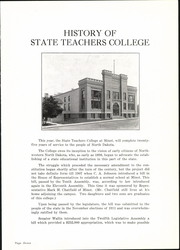 Page 11, 1938 Edition, Minot State University - Beaver Yearbook (Minot, ND) online yearbook collection