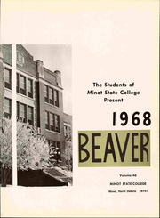 Page 7, 1968 Edition, Minot State University - Beaver Yearbook (Minot, ND) online yearbook collection