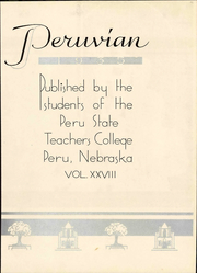 Page 9, 1935 Edition, Peru State College - Peruvian Yearbook (Peru, NE) online yearbook collection