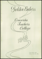 Page 5, 1948 Edition, Concordia University Nebraska - Comet Yearbook (Seward, NE) online yearbook collection