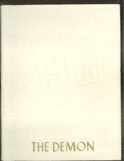 1959 Edition, Glenfield High School - Demon Yearbook (Glenfield, ND)