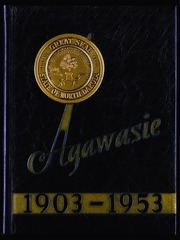 North Dakota State College of Science - Agawasie Yearbook (Wahpeton, ND) online yearbook collection, 1953 Edition, Page 1
