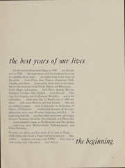 Page 11, 1951 Edition, North Dakota State University - Bison Yearbook (Fargo, ND) online yearbook collection