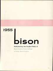 Page 9, 1955 Edition, North Dakota State University - Bison Yearbook (Fargo, ND) online yearbook collection