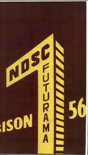 1956 Edition, North Dakota State University - Bison Yearbook (Fargo, ND)