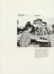 Page 10, 1965 Edition, North Dakota State University - Bison Yearbook (Fargo, ND) online yearbook collection