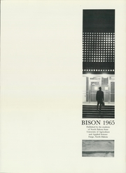 Page 5, 1965 Edition, North Dakota State University - Bison Yearbook (Fargo, ND) online yearbook collection