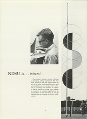 Page 8, 1965 Edition, North Dakota State University - Bison Yearbook (Fargo, ND) online yearbook collection