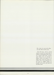 Page 8, 1966 Edition, North Dakota State University - Bison Yearbook (Fargo, ND) online yearbook collection