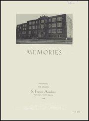 Page 3, 1946 Edition, St Francis Academy - Memories Yearbook (Hankinson, ND) online yearbook collection
