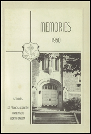 Page 3, 1950 Edition, St Francis Academy - Memories Yearbook (Hankinson, ND) online yearbook collection