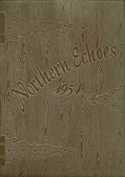 1954 Edition, Sheyenne River Academy - Northern Echoes Yearbook (Harvey, ND)