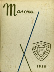 Stern College for Women - Kochaviah Yearbook (New York, NY) online yearbook collection, 1958 Edition, Page 1