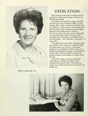 Page 16, 1973 Edition, Stern College for Women - Kochaviah Yearbook (New York, NY) online yearbook collection