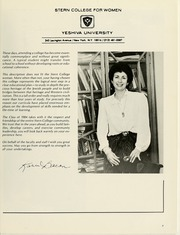 Page 11, 1984 Edition, Stern College for Women - Kochaviah Yearbook (New York, NY) online yearbook collection