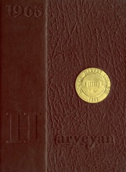 1965 Edition, Morris Harvey College - Harveyan Yearbook (Charleston, WV)