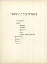 Page 14, 1951 Edition, Pasadena College - La Sierra Yearbook (Pasadena, CA) online yearbook collection
