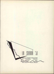Page 7, 1951 Edition, Pasadena College - La Sierra Yearbook (Pasadena, CA) online yearbook collection