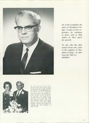 Page 17, 1968 Edition, Pasadena College - La Sierra Yearbook (Pasadena, CA) online yearbook collection