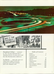 Page 9, 1968 Edition, Pasadena College - La Sierra Yearbook (Pasadena, CA) online yearbook collection