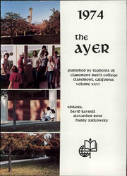 Page 7, 1974 Edition, Claremont McKenna College - Ayer Yearbook (Claremont, CA) online yearbook collection