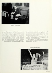 Page 11, 1959 Edition, Grace Theological Seminary - Xapis / Grace Yearbook (Winona Lake, IN) online yearbook collection