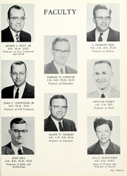 Page 17, 1959 Edition, Grace Theological Seminary - Xapis / Grace Yearbook (Winona Lake, IN) online yearbook collection